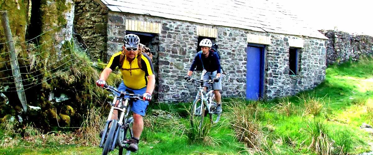 Mudtrek Mountain biking from the door